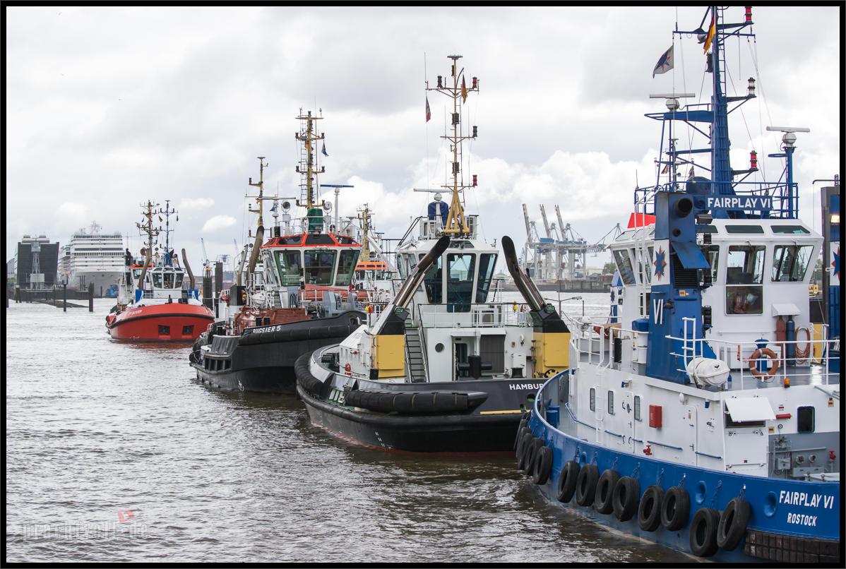 Am 20.4.2014 (Ostersonntag) kommt das neue Containerschiff von  HAMBURG-SÜD  Cap San Augustin nach Hamburg