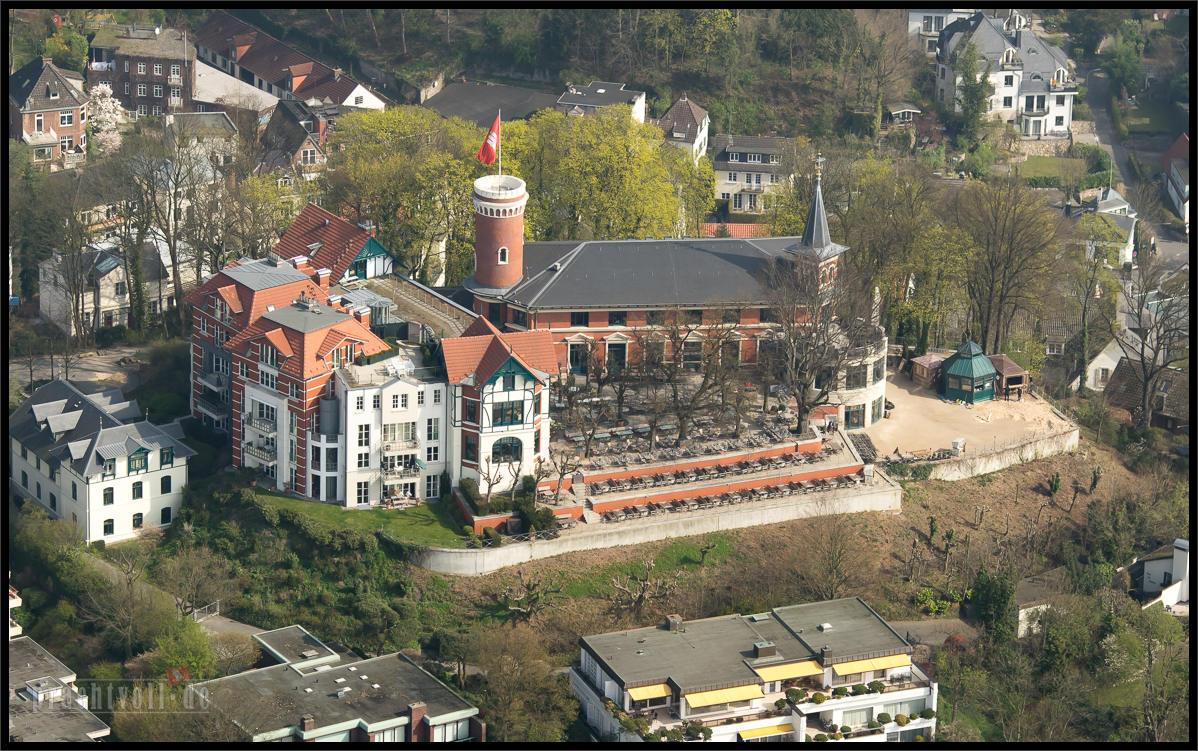 Luftbilder von Anfang April – Blankenese bis zur Binnenalster 3.4.2014