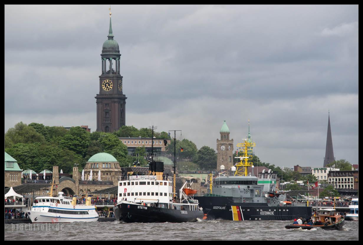 Impressionen vom Hamburger Hafengeburtstag 2014