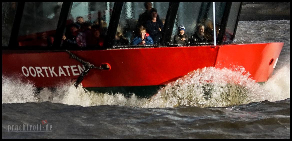Am 30. März 2015 zieht ein Tief über Hamburg.