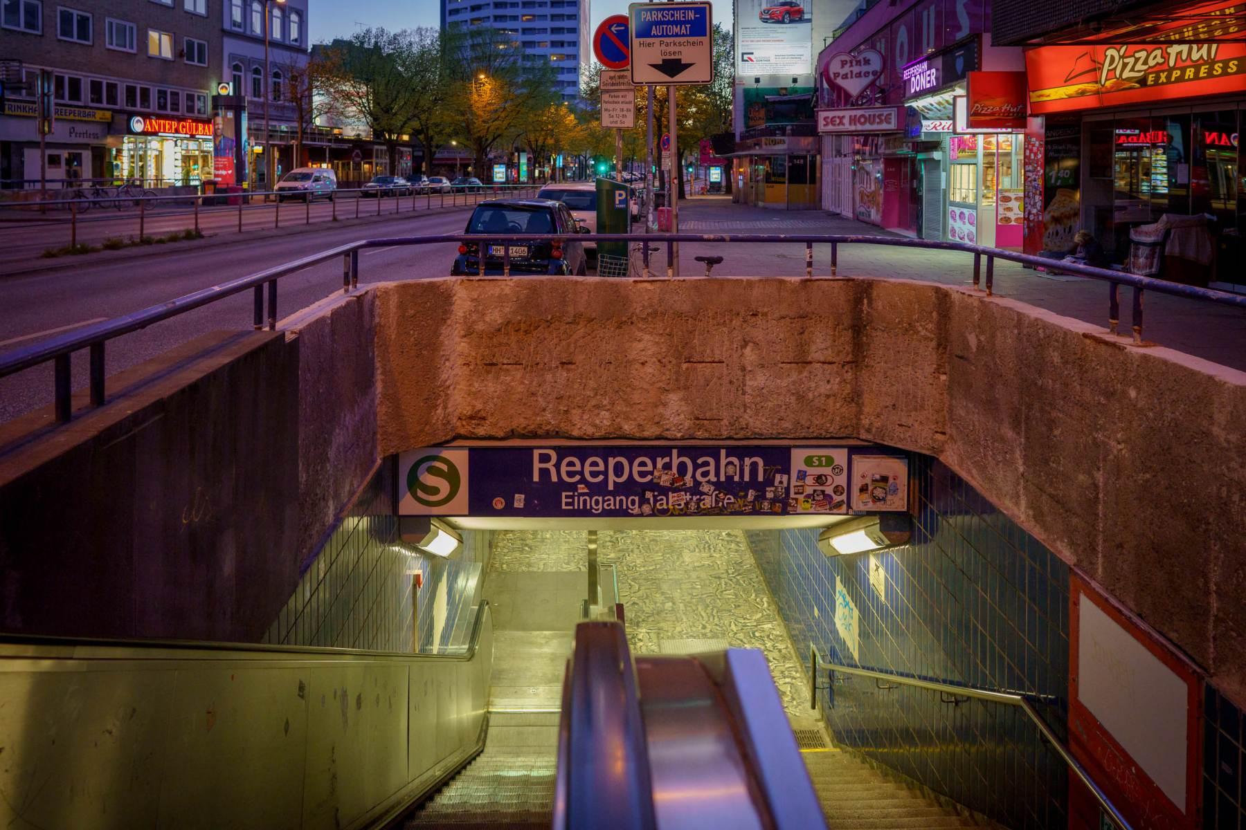 Reeperbahn S-Bahn