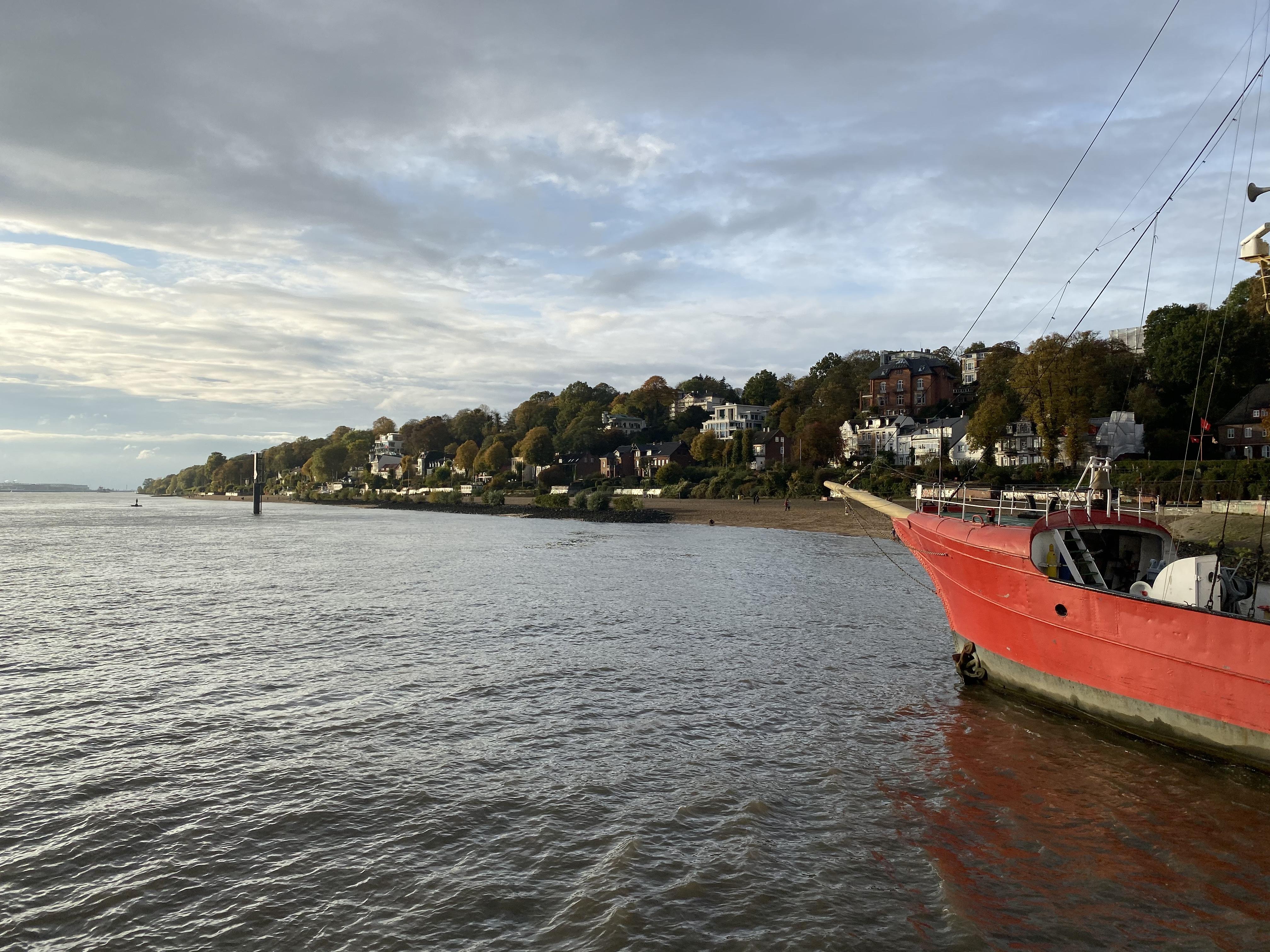 Test – Elbe Wasserkante bei Neumühlen